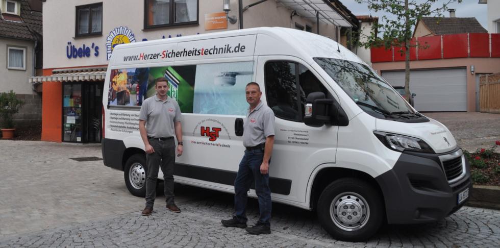 Michael Herzer, Herzer Sicherheitstechnik Oberstenfeld, Herzer Sicherheitstechnik